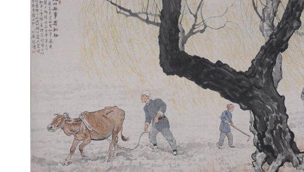Картина Сюй Бэйхуна ушла с молотка в Пекине за рекордные $42 млн