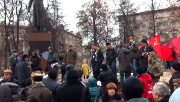 В Нижнем Новгороде прошла акция оппозиции. Видео очевидца