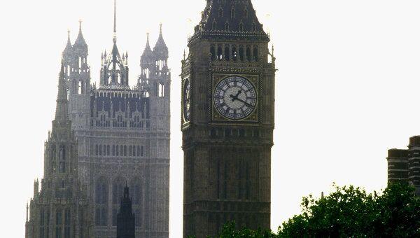 Лондон. Биг Бен. Архив