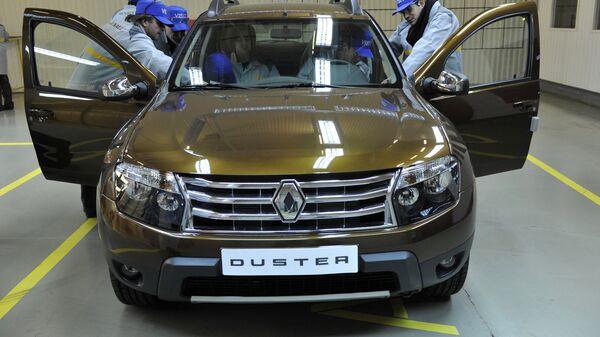 Сборка автомобилей Renault Duster
