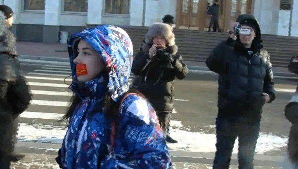 Акция российских граждан За справедливые выборы в Хабаровске