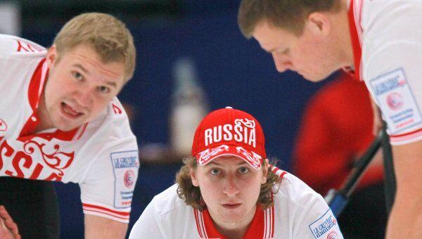 Алексей Стукальский, Андрей Дроздов и Петр Дрон (слева направо)