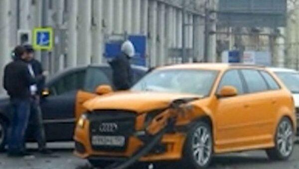 Авария на Садовом кольце осложнила движение общественного транспорта