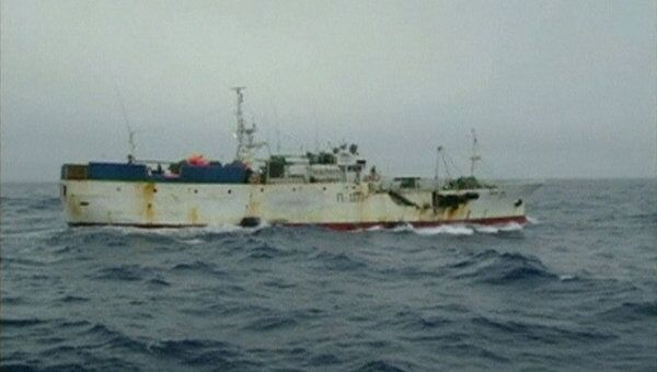 Российское рыболовное судно «Спарта»