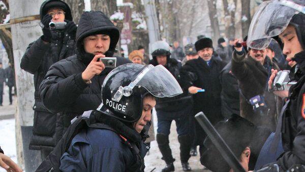 Массовые беспорядки в Жанаозене