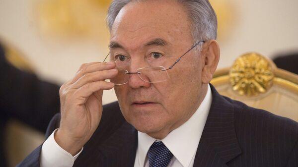 Президент Казахстана Нурсултан Назарбаев. Архив