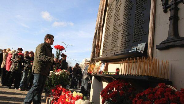 Память жертв теракта на Дубровке почтят в пятницу в Москве