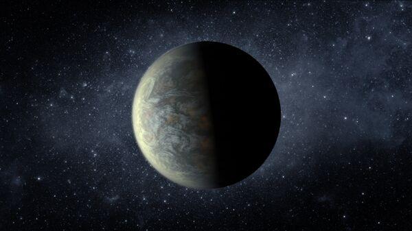 """Планета Kepler-20f напоминает по своим размерам Землю, а ее атмосфера может состоять из """"одеяла"""" водного пара"""