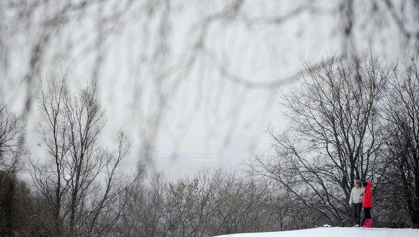 Снегопад. Архив