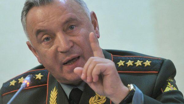 Начальник Генерального штаба ВС РФ генерал армии Николай Макаров. Архив