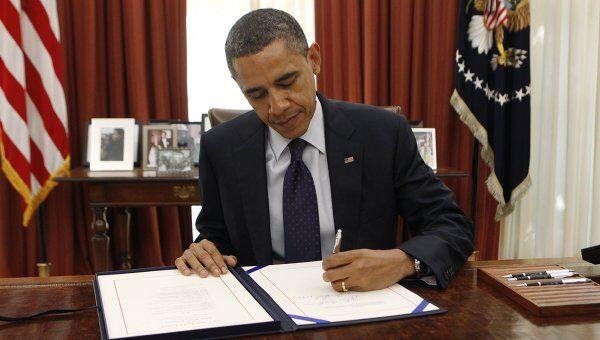 Обама подписал закон по налоговым льготам