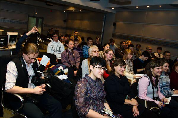 насыщеный знаниями день продолжила презентация Московской ко
