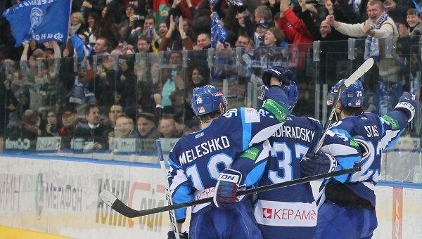 Хоккеисты минского Динамо, архивное фото