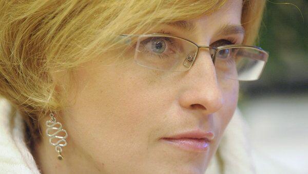 Директор ЦПКиО им. Горького Ольга Захарова. Архивное фото
