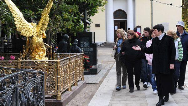 Экскурсия по Ваганьковскому кладбищу. Архив
