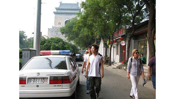 Полиция Китая. Архивное фото