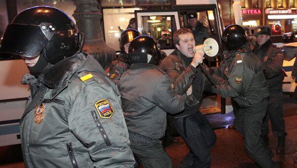 Митинг Стратегия -31 в Санкт-Петербурге