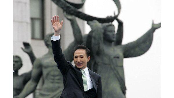 Ли Мен Бак, Президент Кореи. Архив