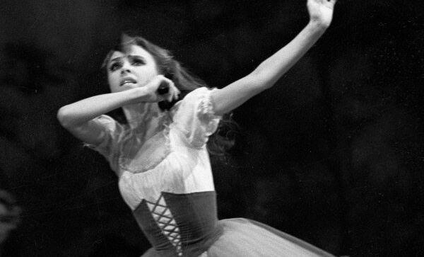 Балерина Людмила Семеняка