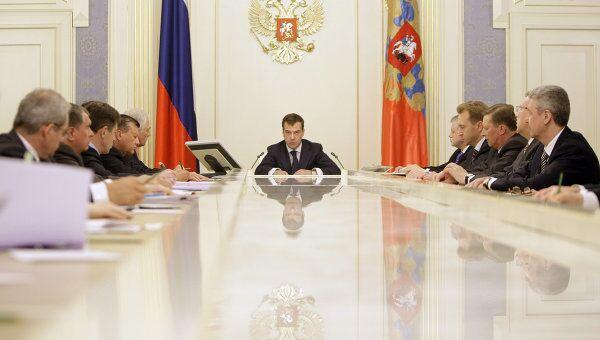 Президент России Дмитрий Медведев озвучил в понедельник тезисы Бюджетного послания на 2010-2012 годы