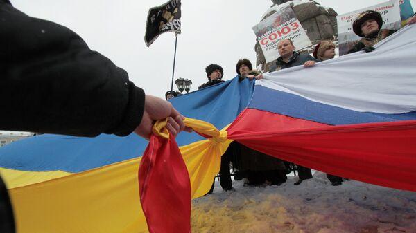Празднование годовщины Переяславской Рады в Киеве.Архивное фото.