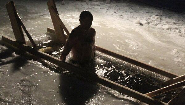 Крещенские купания. Архив
