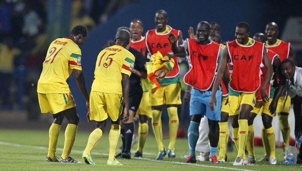 Футболисты сборной Мали