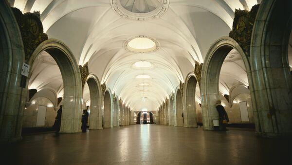 Станция Замоскворецкой линии Московского метрополитена Павелецкая. Архивное фото