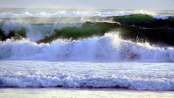 Волны на Бали. Архивное фото