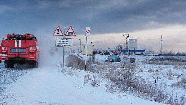 Состав с нефтью сошел с рельсов в Амурской области