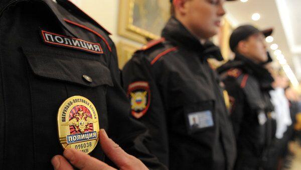 Сотрудники МВД РФ. Архивное фото