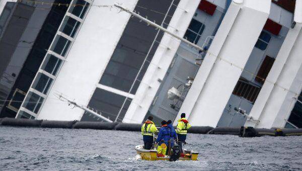 Прекращена поисковая операция на Costa Concordia
