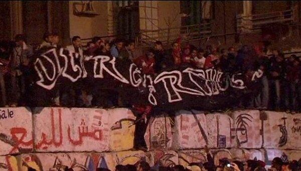 Массовые беспорядки на площади Тахрир в Египте. Видео с места событий