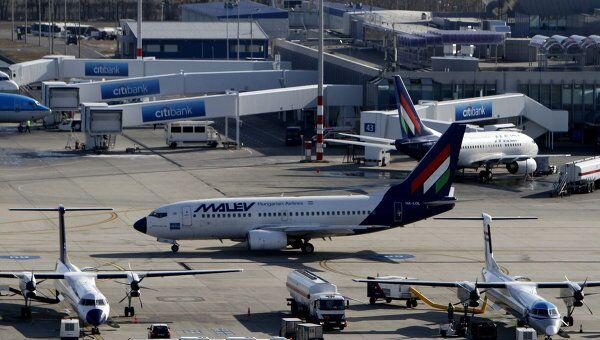 Самолет венгерской авиакомпании Malev