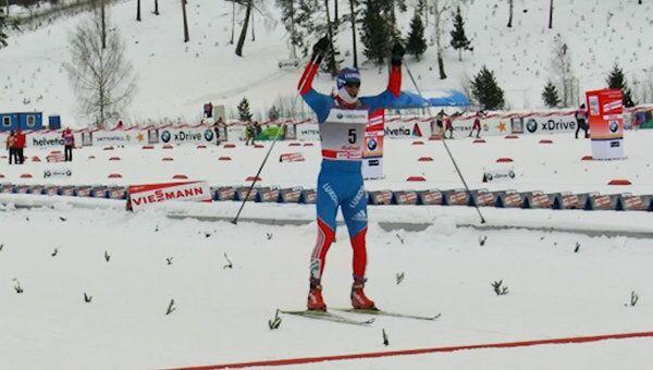 Золотой финиш российского лыжника Вылегжанина на этапе Кубка мира