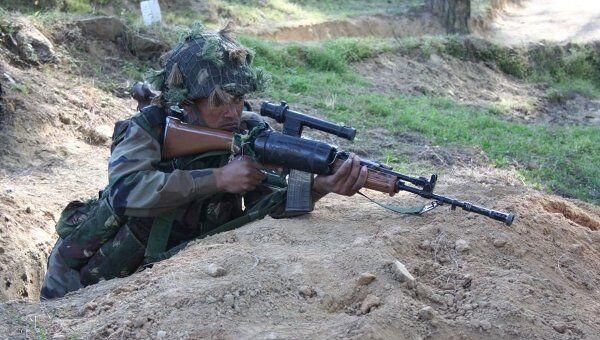 Совместные российско-индийские учения антитеррористической направленности Индра. Архивное фото
