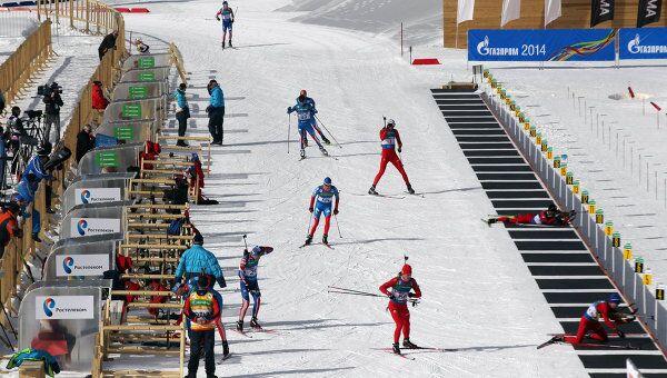 Подготовка к проведению тестовых соревнований в Красной Поляне
