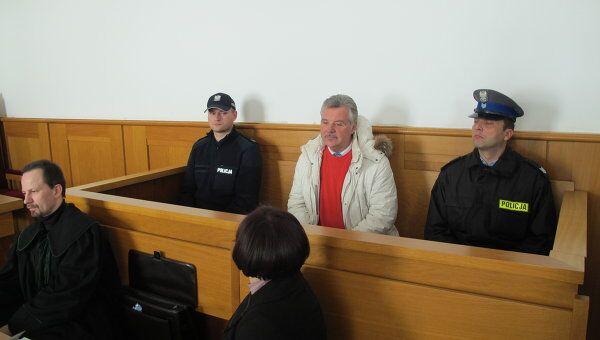 Александр Игнатенко в окружном суде польского города Новы-Сонч. Архив