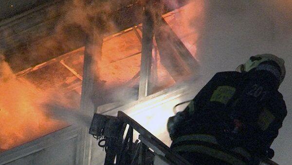 Пожар в московском офисе тушили 20 расчетов. Видео с места ЧП