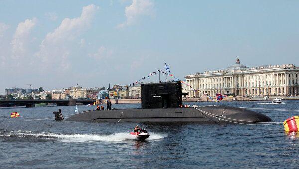 Подводная лодка Санкт-Петербург