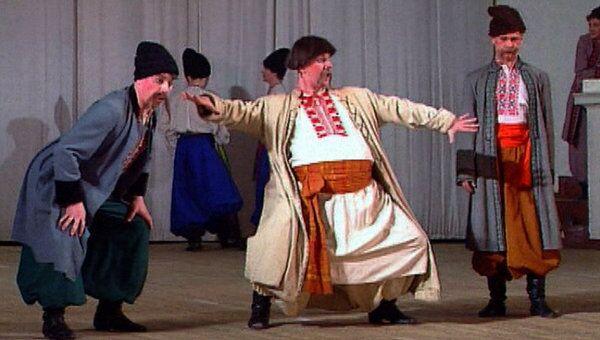 Ансамблю Игоря Моисеева - 75 лет. Архивное видео