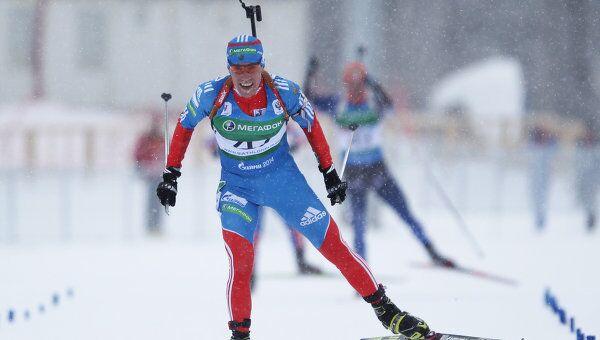 Российский биатлонист Алексей Слепов. Архивное фото