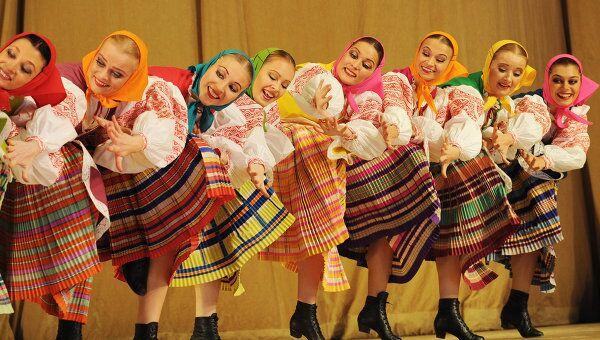 Ансамбль народного танца имени Игоря Моисеева, архивное фото