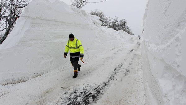 Аномальная погода в Румынии