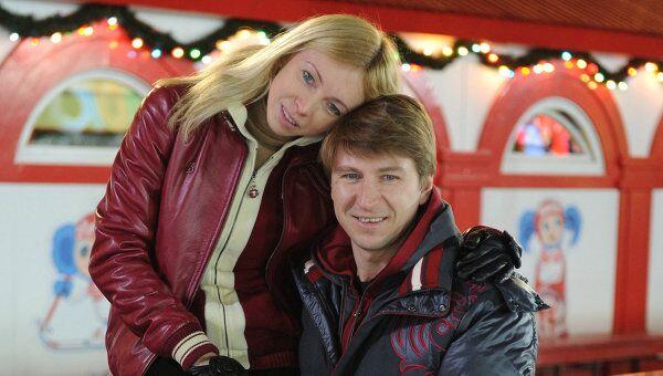 Фигуристы Алексей Ягудин и Татьяна Тотьмянина. Архивное фото