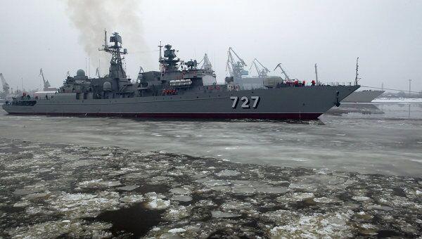СКР Ярослав Мудрый войдет в боевой состав Балтфлота