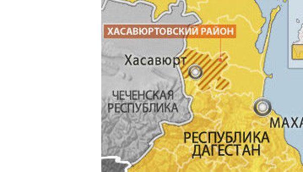 Четверо боевиков уничтожены в перестрелке в дагестанском Хасавюрте