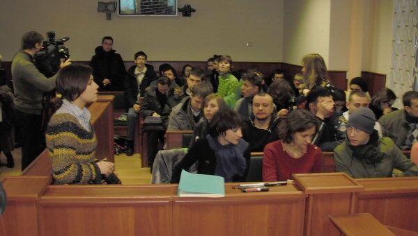 Зал в Смоленском облсуде перед рассмотрением кассации по делу Таисии Осиповой
