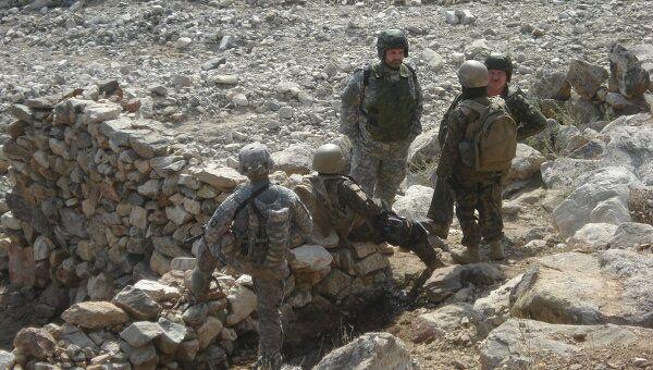 Антинаркотическая операция РФ и США на востоке Афганистана. Архивное фото