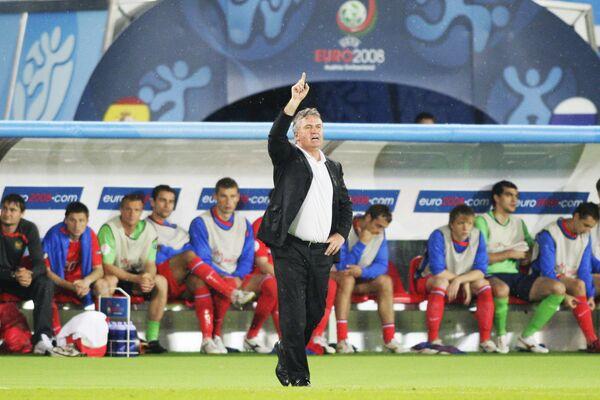 Чемпионат Европы по футболу. Россия – Испания - 0:3